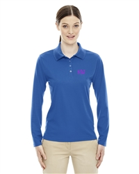 Ladies' Origin Performance Long-Sleeved Pique Polo