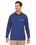 Men's Pinnacle Performance Long Sleeve Piqué Polo