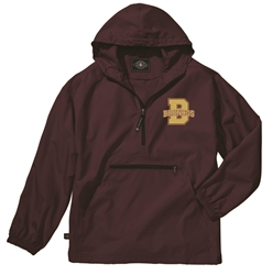 Brookwood Embroidered Pack-N-Go Jacket