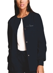 CK4350 - Women's Snap Front Warm-Up Jacket