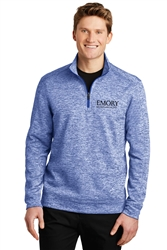 Sport-Tek Electric Heather Fleece 1/4-Zip Pullover