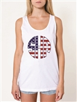 New Zealandn Flag Monogram Tank Top