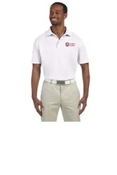 Harriton Men's 4 oz. Polytech Polo