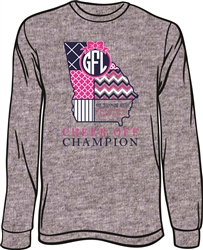 2015 Cheer Off Champion Long Sleeve T-Shirt