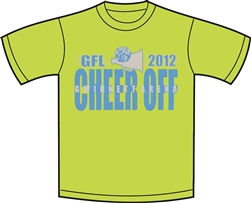 2012 Cheer Off Event T-Shirt
