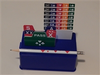 Bridge Buddy Bidding Box Set with PVC Cards
