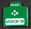 "Replacement Bidding Cards - ""Pass"" Card - Pack of 50"