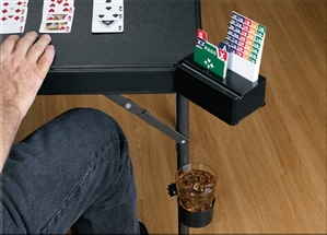 Bridge Buddy Deluxe Gaming Table Cup Holders