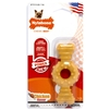 Nylabone Dura Chew Textured Ring Bone, Flavor Medley, Color and Package may vary