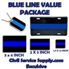 Thin Blue Line Super Value Package