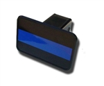 Police Thin Blue Line Hitch Cover