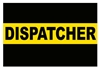 Thin Gold Line Dispatcher Decal