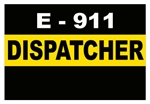 Thin Gold Line Call Take - E-911 Dispatcher