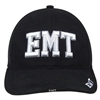 Deluxe Black EMT Low Profile Baseball Cap