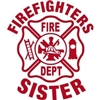 Firefighter's Sister Maltese Vinyl Decal