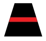 Thin Red Line Decal for Helmet or Vehicle