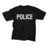 Double Sided Police T-Shirt