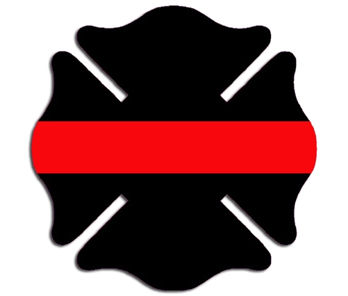 reflective thin red line maltese cross decal 911 dispatcher clipart Dispatcher Memes