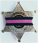 Thin Pink Line Mourning Bands for Cancer 10 pack