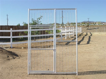 8'H x 6'W Exotic Animal Gate Panel