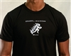 Action Factory Stunts Black T Shirt BS Fire