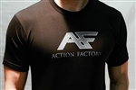 Action Factory Official Company Shirt Logo Stunts