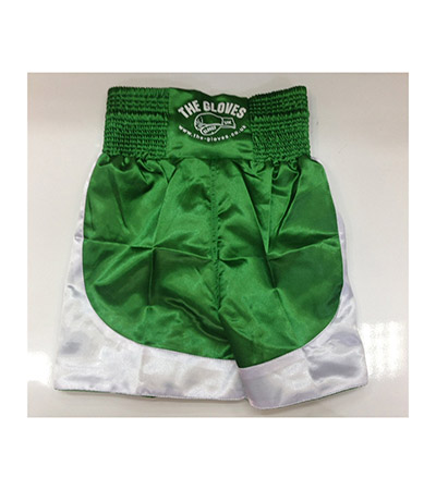 The Gloves Boxing Shorts Green