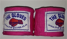 The Gloves Hand Wraps - Pink