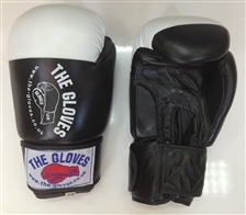 Black and White Comp Sparring Gloves