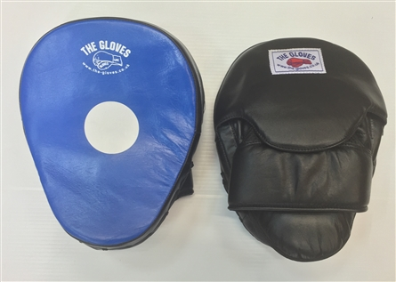 The Gloves Blue Black Pro Hook and Jab Pads