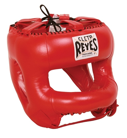 Cleto Reyes HEADGUARD WITH NYLON ROUNDED BAR