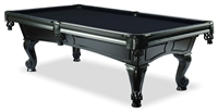 BlackMatte Pool Table