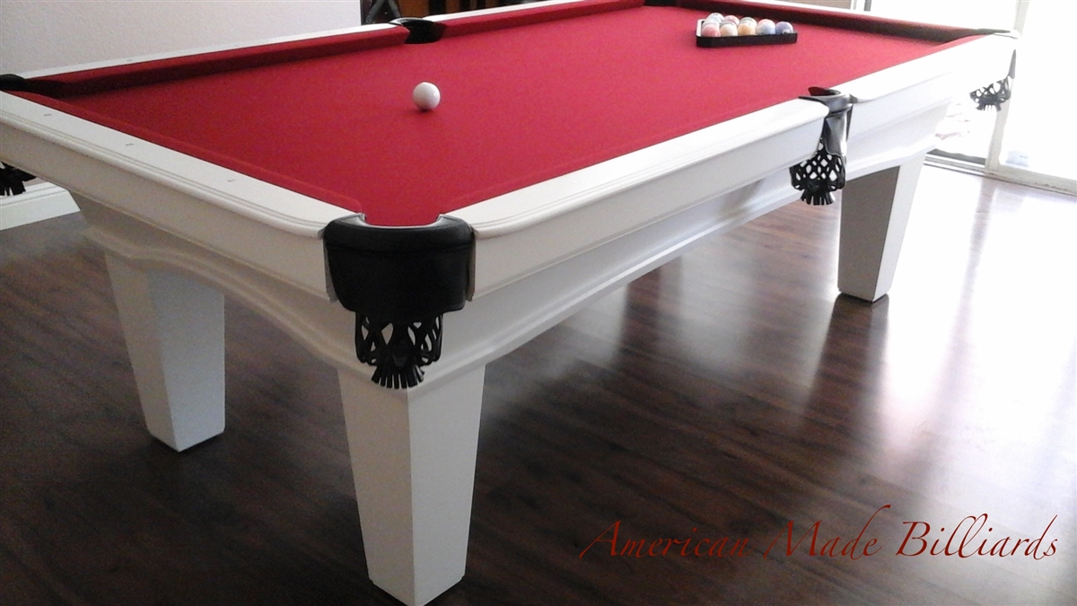 ALEXANDER MODERN OAK 2, Americana Pool Table ...