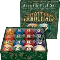 Aramith Camouflage Billiard Ball Set