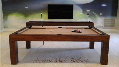Modern Pool Tables, Chestnut Finish Drawer