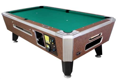 Panther Coin Slot Pool Table
