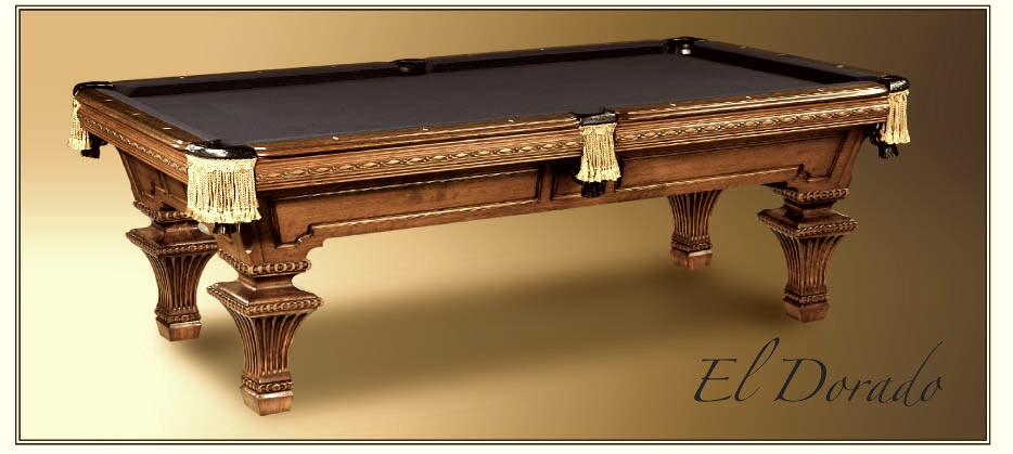 El Dorado - El pool table