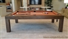 Modern Pool Tables, Natural Walnut