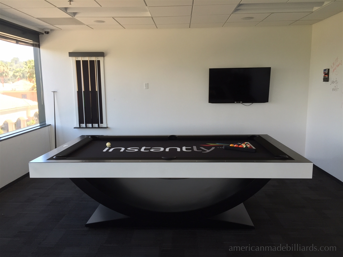 Contemporary Pool Tables American Arch - Pool table movers corona ca