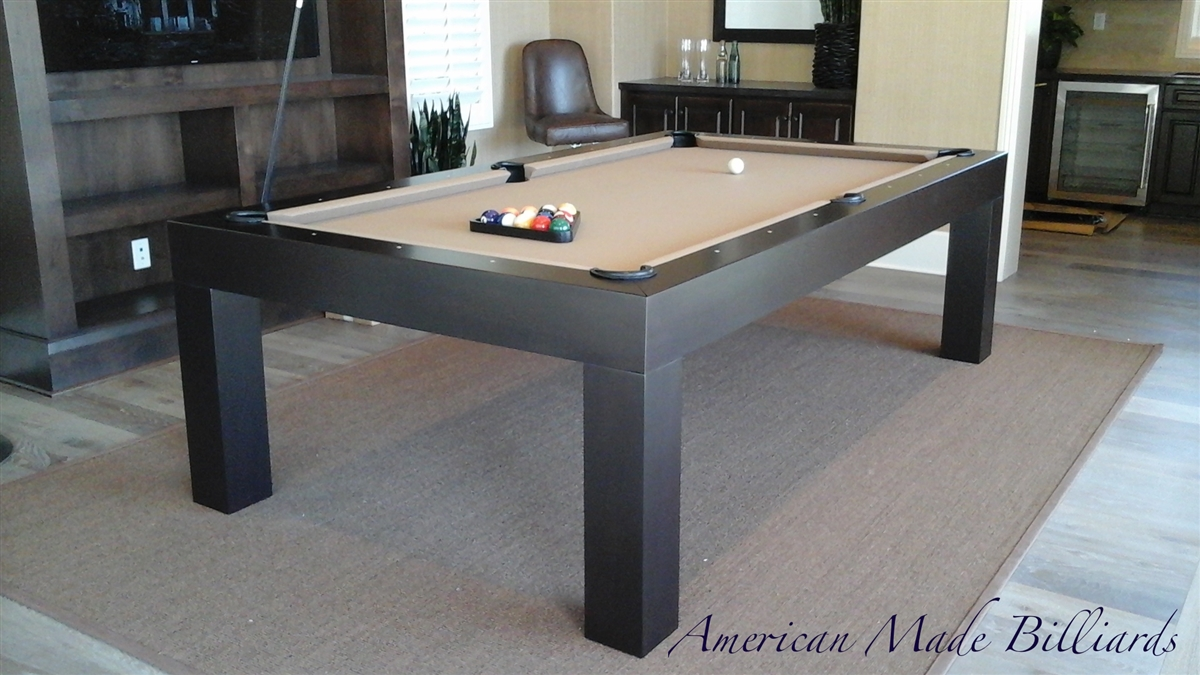 Modern Pool Table Expresso - Masterpiece pool table