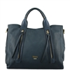Cuoieria Fiorentina Camilla Leather Handbag For Women - Denim