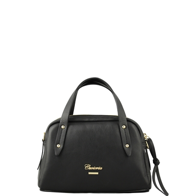 Cuoieria Fiorentina Amalia Small Leather Bag - Black