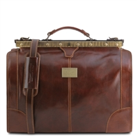 Tuscany Leather TL1023 Madrid Gladstone Travel Bag- Small