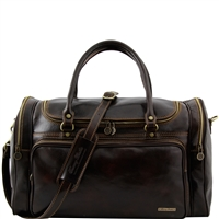Tuscany Leather Praga Travel Bag TL1048 Travel leather bag