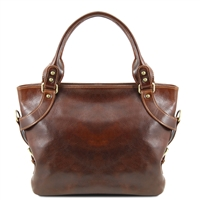 Tuscany Leather Ilenia Shoulder Bag TL140899 - Brown