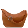 Tuscany Leather Yvette Hobo Bag TL140900 - Cognac
