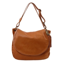 Tuscany Leather TL141110 Shoulder Bag - Cognac