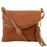 Tuscany Leather TL Young bag TL141153 - Cognac