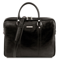 Tuscany Leather  TL141283 Prato Laptop Case