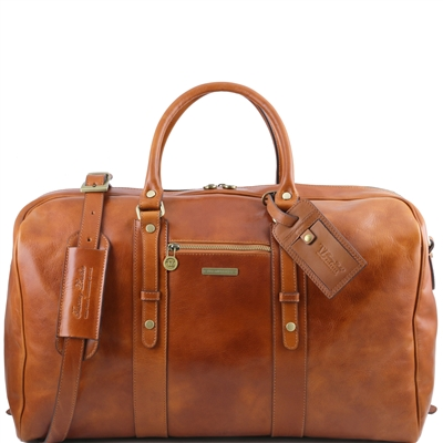 scany Leather TuTL141401 Voyager Travel Bag